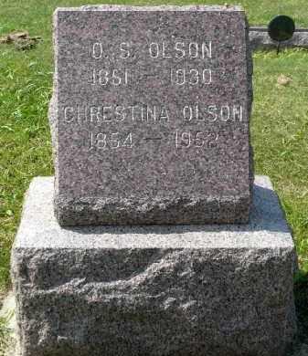 OLSON, CHRESTINA - Minnehaha County, South Dakota | CHRESTINA OLSON - South Dakota Gravestone Photos