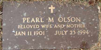 OLSON, PEARL M. - Minnehaha County, South Dakota   PEARL M. OLSON - South Dakota Gravestone Photos