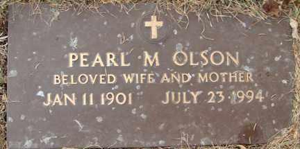 OLSON, PEARL M. - Minnehaha County, South Dakota | PEARL M. OLSON - South Dakota Gravestone Photos