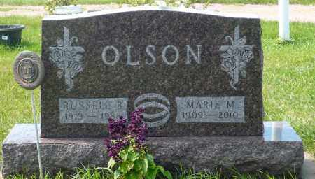 OLSON, RUSSELL B. - Minnehaha County, South Dakota | RUSSELL B. OLSON - South Dakota Gravestone Photos
