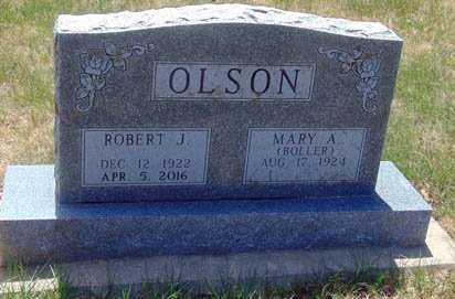 BOLLER OLSON, MARY A. - Minnehaha County, South Dakota | MARY A. BOLLER OLSON - South Dakota Gravestone Photos
