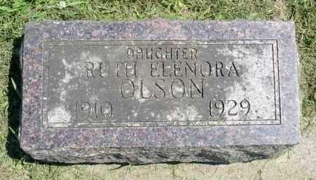 OLSON, RUTH ELENORA - Minnehaha County, South Dakota | RUTH ELENORA OLSON - South Dakota Gravestone Photos