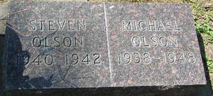 OLSON, MICHAEL - Minnehaha County, South Dakota   MICHAEL OLSON - South Dakota Gravestone Photos
