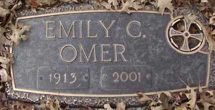BIRD OMER, EMILY C. - Minnehaha County, South Dakota   EMILY C. BIRD OMER - South Dakota Gravestone Photos
