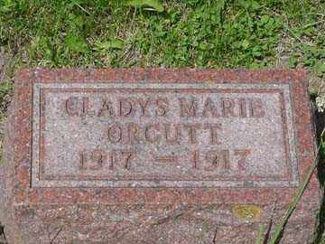 ORCUTT, GLADYS MARIE - Minnehaha County, South Dakota | GLADYS MARIE ORCUTT - South Dakota Gravestone Photos