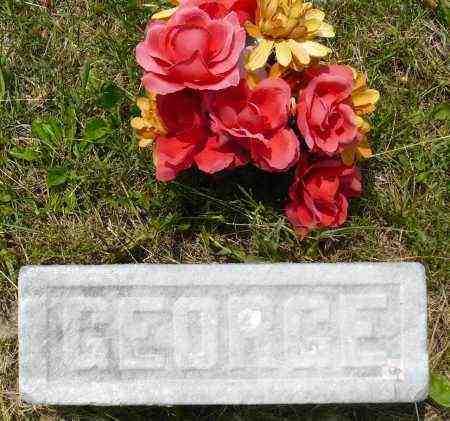 ORDAL, GEORGE J. (FOOTSTONE) - Minnehaha County, South Dakota | GEORGE J. (FOOTSTONE) ORDAL - South Dakota Gravestone Photos