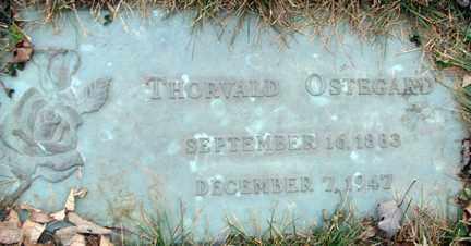 OSTEGARD, THORVALD - Minnehaha County, South Dakota | THORVALD OSTEGARD - South Dakota Gravestone Photos