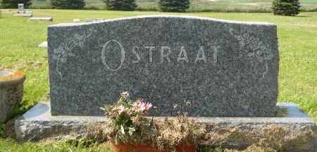 OSTRAAT, FAMILY MARKER - Minnehaha County, South Dakota | FAMILY MARKER OSTRAAT - South Dakota Gravestone Photos