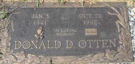 OTTEN, DONALD D. - Minnehaha County, South Dakota | DONALD D. OTTEN - South Dakota Gravestone Photos