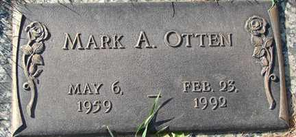 OTTEN, MARK A. - Minnehaha County, South Dakota | MARK A. OTTEN - South Dakota Gravestone Photos