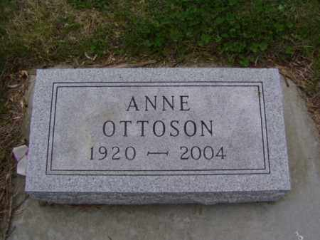 FAIRHURST OTTOSON, ANNE ATHALIAH - Minnehaha County, South Dakota | ANNE ATHALIAH FAIRHURST OTTOSON - South Dakota Gravestone Photos