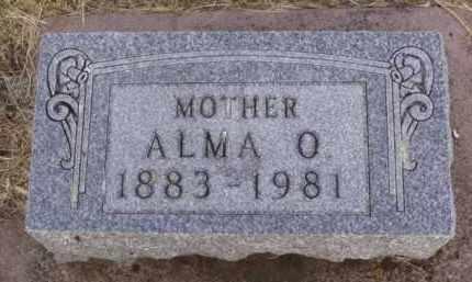 OVERVAAG, ALMA OTELIA - Minnehaha County, South Dakota | ALMA OTELIA OVERVAAG - South Dakota Gravestone Photos