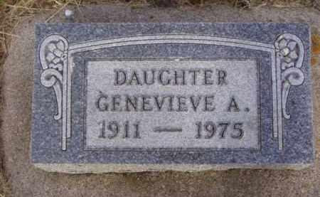OVERVAAG, GENEVIEVE A. - Minnehaha County, South Dakota | GENEVIEVE A. OVERVAAG - South Dakota Gravestone Photos