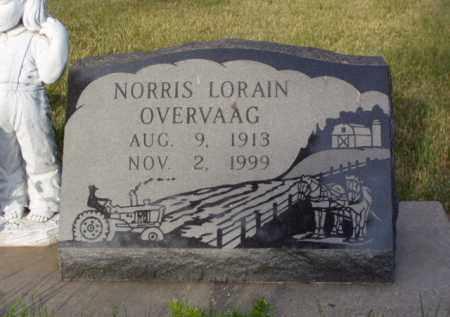 OVERVAAG, NORRIS LORAIN - Minnehaha County, South Dakota | NORRIS LORAIN OVERVAAG - South Dakota Gravestone Photos