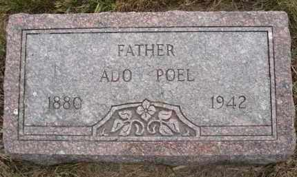 POEL, ADO - Minnehaha County, South Dakota | ADO POEL - South Dakota Gravestone Photos