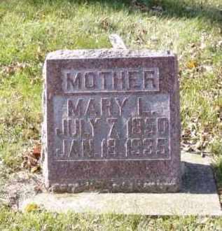PABST, MARY L. - Minnehaha County, South Dakota | MARY L. PABST - South Dakota Gravestone Photos