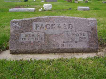 PACKARD, M. WAYNE - Minnehaha County, South Dakota | M. WAYNE PACKARD - South Dakota Gravestone Photos