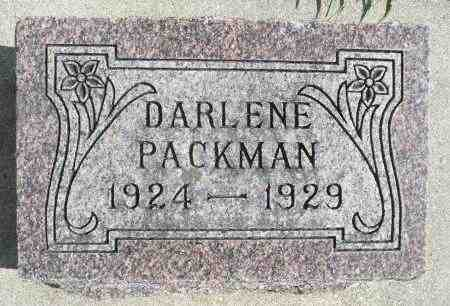PACKMAN, DARLENE - Minnehaha County, South Dakota | DARLENE PACKMAN - South Dakota Gravestone Photos