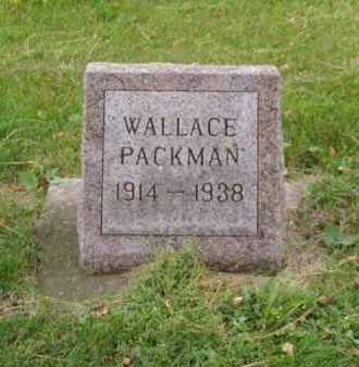 PACKMAN, WALLACE - Minnehaha County, South Dakota | WALLACE PACKMAN - South Dakota Gravestone Photos