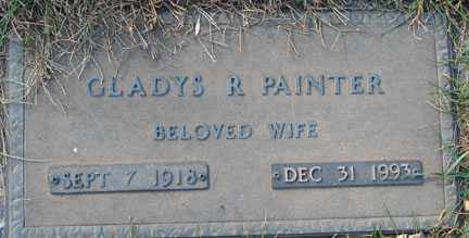 PAINTER, GLADYS R. - Minnehaha County, South Dakota | GLADYS R. PAINTER - South Dakota Gravestone Photos