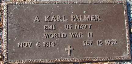 PALMER, A. KARL (WWII) - Minnehaha County, South Dakota | A. KARL (WWII) PALMER - South Dakota Gravestone Photos