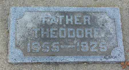 PANKOW, THEODORE - Minnehaha County, South Dakota | THEODORE PANKOW - South Dakota Gravestone Photos