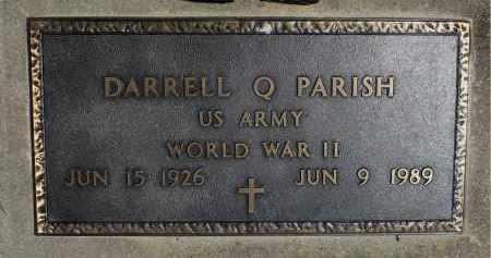 PARISH, DARRELL Q. (WWII) - Minnehaha County, South Dakota | DARRELL Q. (WWII) PARISH - South Dakota Gravestone Photos