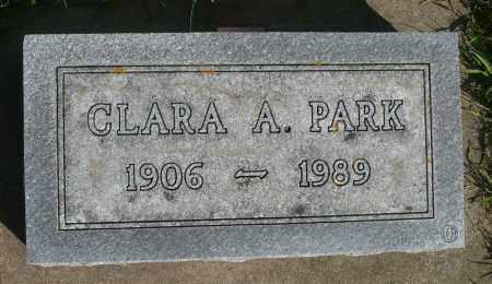 PARK, CLARA A. - Minnehaha County, South Dakota | CLARA A. PARK - South Dakota Gravestone Photos