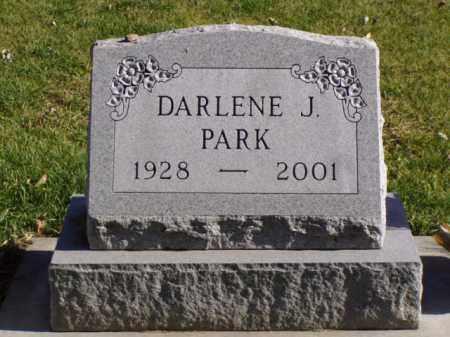 PARK, DARLENE J. - Minnehaha County, South Dakota | DARLENE J. PARK - South Dakota Gravestone Photos