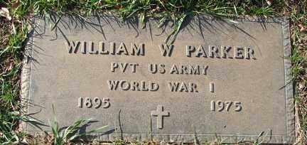 PARKER, WILLIAM W. (WWI) - Minnehaha County, South Dakota | WILLIAM W. (WWI) PARKER - South Dakota Gravestone Photos