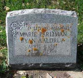 AALDRUP, MARIE LYDIA - Minnehaha County, South Dakota | MARIE LYDIA AALDRUP - South Dakota Gravestone Photos
