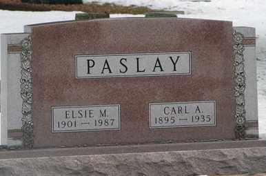 PASLAY, CARL A. - Minnehaha County, South Dakota | CARL A. PASLAY - South Dakota Gravestone Photos