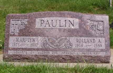 PAULIN, MARILYN - Minnehaha County, South Dakota   MARILYN PAULIN - South Dakota Gravestone Photos