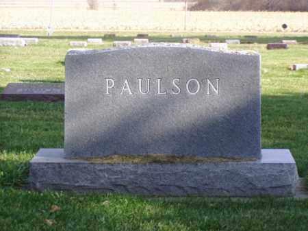 PAULSON, OLGA H. - Minnehaha County, South Dakota | OLGA H. PAULSON - South Dakota Gravestone Photos