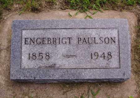 PAULSON, ENGEBRIGT - Minnehaha County, South Dakota | ENGEBRIGT PAULSON - South Dakota Gravestone Photos