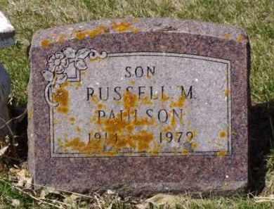 PAULSON, RUSSELL M. - Minnehaha County, South Dakota | RUSSELL M. PAULSON - South Dakota Gravestone Photos