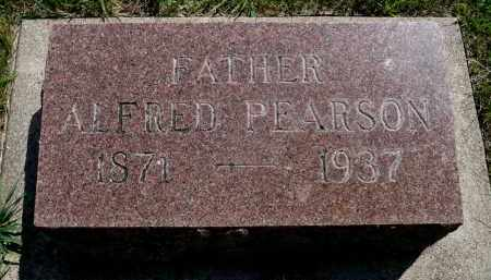 PEARSON, ALFRED - Minnehaha County, South Dakota | ALFRED PEARSON - South Dakota Gravestone Photos