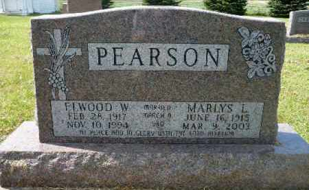 PEARSON, ELWOOD W. - Minnehaha County, South Dakota | ELWOOD W. PEARSON - South Dakota Gravestone Photos