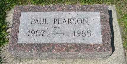 PEARSON, PAUL - Minnehaha County, South Dakota | PAUL PEARSON - South Dakota Gravestone Photos