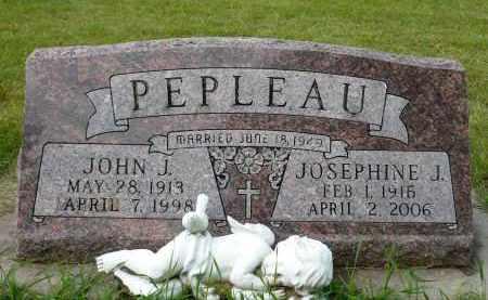 PEPLEAU, JOSEPHINE J. - Minnehaha County, South Dakota | JOSEPHINE J. PEPLEAU - South Dakota Gravestone Photos