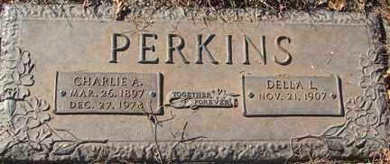 PERKINS, DELLA L. - Minnehaha County, South Dakota   DELLA L. PERKINS - South Dakota Gravestone Photos
