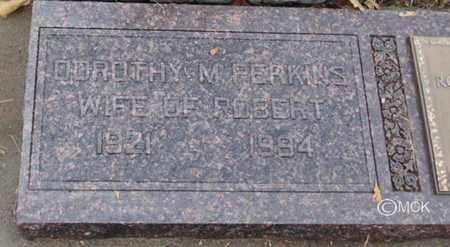 PERKINS, DOROTHY M. - Minnehaha County, South Dakota | DOROTHY M. PERKINS - South Dakota Gravestone Photos