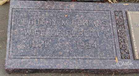 PERKINS, DOROTHY M. - Minnehaha County, South Dakota   DOROTHY M. PERKINS - South Dakota Gravestone Photos