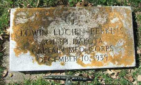 PERKINS, EDWIN LUCIEN - Minnehaha County, South Dakota | EDWIN LUCIEN PERKINS - South Dakota Gravestone Photos
