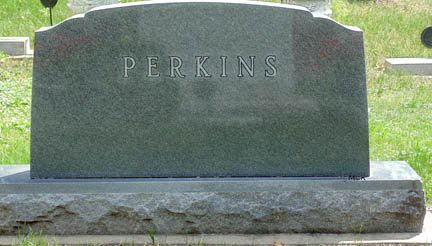 PERKINS, FAMILY HEADSTONE - Minnehaha County, South Dakota | FAMILY HEADSTONE PERKINS - South Dakota Gravestone Photos