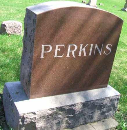 PERKINS, FAMILY STONE - Minnehaha County, South Dakota   FAMILY STONE PERKINS - South Dakota Gravestone Photos