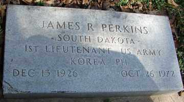 PERKINS, JAMES R. - Minnehaha County, South Dakota | JAMES R. PERKINS - South Dakota Gravestone Photos