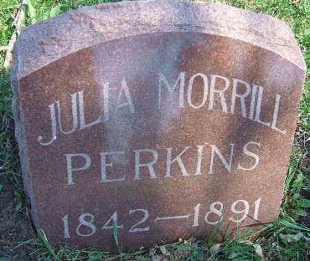 PERKINS, JULIA - Minnehaha County, South Dakota | JULIA PERKINS - South Dakota Gravestone Photos