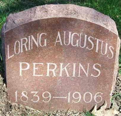 PERKINS, LORING AUGUSTUS - Minnehaha County, South Dakota   LORING AUGUSTUS PERKINS - South Dakota Gravestone Photos