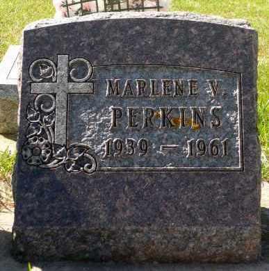 PERKINS, MARLENE V. - Minnehaha County, South Dakota | MARLENE V. PERKINS - South Dakota Gravestone Photos
